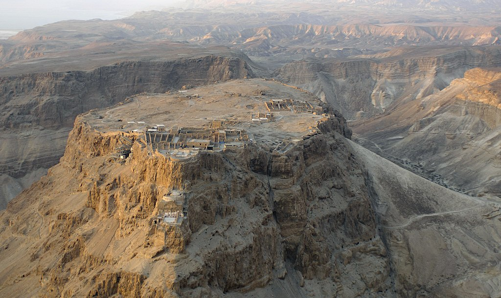 Aerial view of Masada (Israel) 01.jpg
