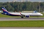Aeroflot, VP-BES, Airbus A321-211 (30483307094) (2).jpg