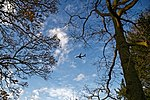 Aeroplane over Broxted Essex England - Ryanair approaching Stansted.jpg