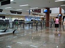 Aeropuerto Internacional de Puerto Iguazú PLANTA BAJA.JPG