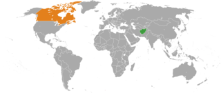 Afghanistan–Canada relations