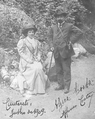 Afonso Costa e Alzira Costa em Cauterets, Julho de 1909.png