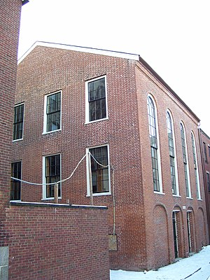 National Register of Historic Places listings in northern Boston - Image: African Meeting House