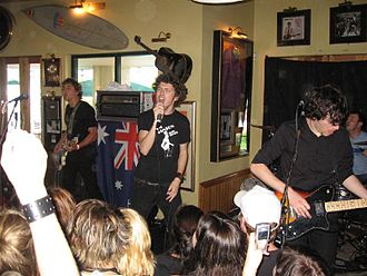 After the Fall (band) - After the Fall perform at the Hard Rock Cafe in Surfers Paradise, 2005