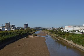 Agui river taken on Sumiyosi bridge.jpg