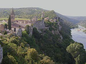 Gard - Image: Aiguèze