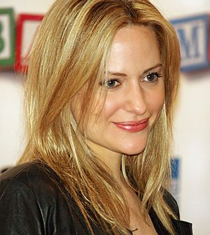 Aimee Mullins - Mullins at the premiere of Baby Mama at Tribeca Film Festival in 2008.