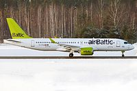 YL-CSA - BCS3 - Air Baltic