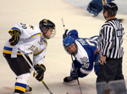 Air Force & Alaska - Fairbanks hockey faceoff.JPG