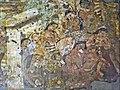 Ajanta Cave 1 Mahajanaka Jataka mural on horse.jpg