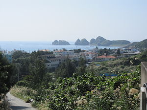 Aka Island - Aka village