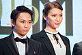 "Akimoto Sayaka & Sugaya Kenta ""Bikuu The Movie"" at Opening Ceremony of the 28th Tokyo International Film Festival (22241420119).jpg"