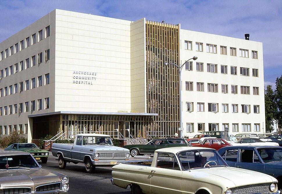 Alaska Anchorage Community Hospital 1972 01