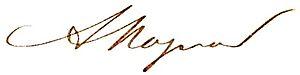 Albéric Magnard - Image: Albéric Magnard signature