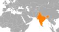 Albania India Locator.png