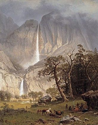 Timken Museum of Art - Image: Albert Bierstadt Cho looke, the Yosemite Fall
