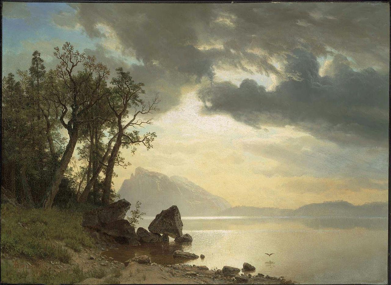 File:Albert Bierstadt - Lake Tahoe, California.jpg ...