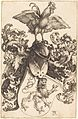 Albrecht Dürer - Coat of Arms with a Lion and a Cock (NGA 1949.1.13).jpg