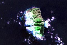 NASA Geocover 2000 satelita bildo