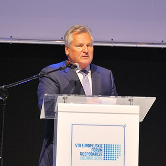 Aleksander Kwaśniewski, Łódź VIII European Economic Forum, October 2015 02