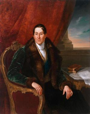 Aleksander Stanisław Potocki - Portrait by Aleksander Kokular