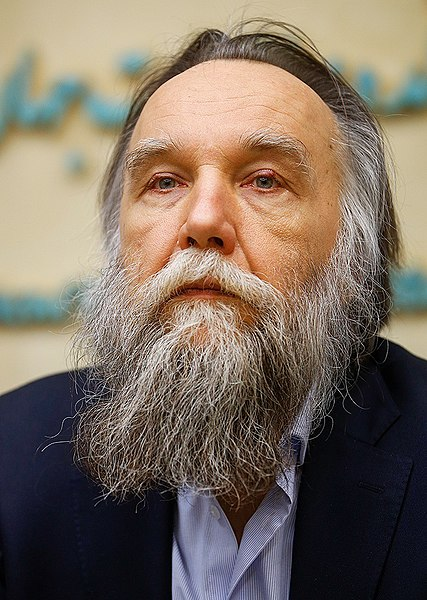El escritor Aleksander Dugin. Autor: Mehdi Bolourian, 14/02/2020. Fuente: Fars News Agency (CC GY 4.0.)