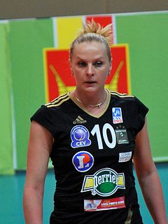 Alexandra Fomina Ukrainian volleyball player