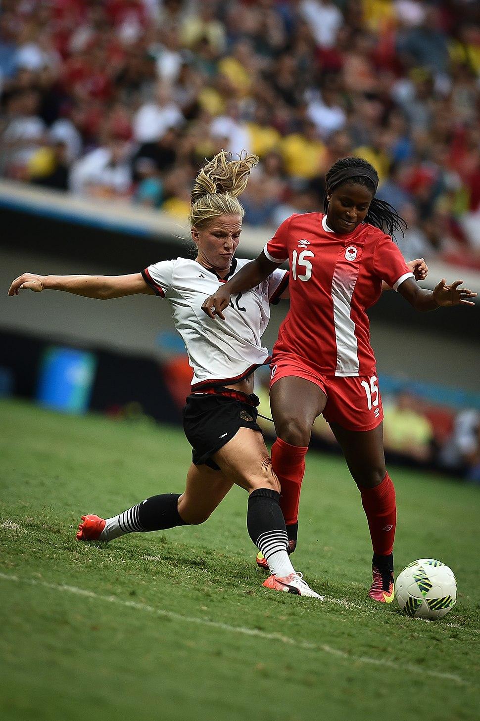 Alemanha x Canadá - Futebol feminino - Olimpíadas Rio 2016 (28774124982)