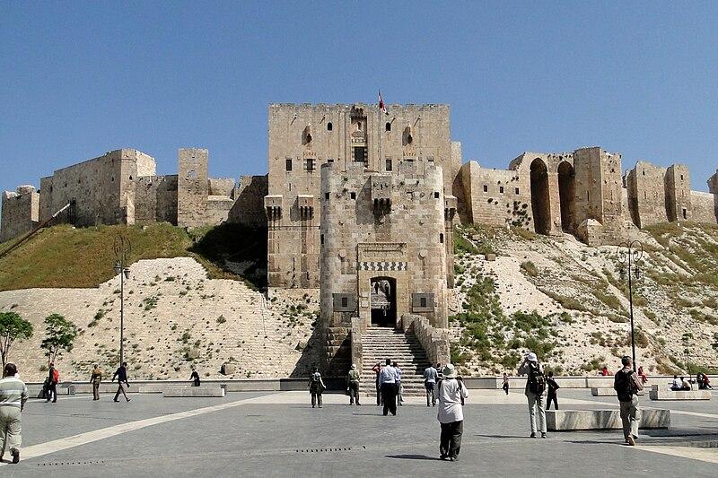 File:Aleppo Citadel 01.jpg
