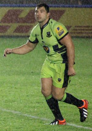 Alex Corbisiero - Corbisiero playing for Northampton Saints in 2013