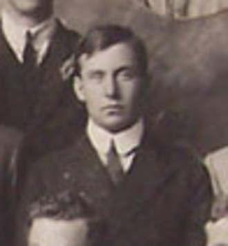 Alexander Foster (rugby player) - Alexander Foster with the British Isles team in 1910