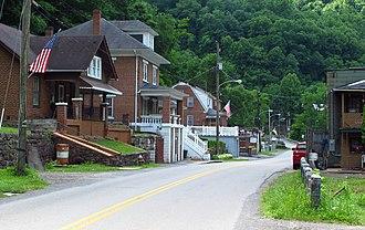 Algoma, West Virginia - Cherokee Road in Algoma