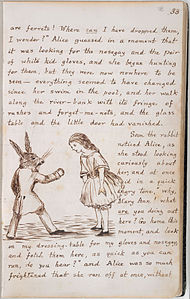 Alice's Adventures Under Ground - Lewis Carroll - British Library Add MS 46700 f18r.jpg
