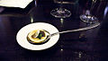 Alinea Balck Truffle explosion, romaine, parmesan (2771964984).jpg
