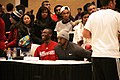 All-Star Game Weekend Raptors' Patrick Patterson meeting fans at NBA All-Star Weekend Center Court 2016 (2) (25010412686).jpg