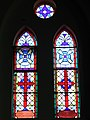 All Saints Anglican Church windows2, Dunedin, NZ.JPG