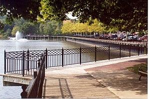 Allegan, Michigan - River Front Walk