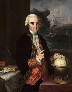 Antonio de Ulloa 18th-century Spanish naval officer, scientist, and colonial administrator