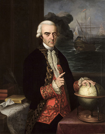 Antonio de Ulloa is credited in European history with the discovery of platinum. Almirante Antonio de Ulloa.jpg
