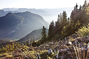 Salzburg (state) - Typical Salzburg Alpine landscape near Sankt Koloman