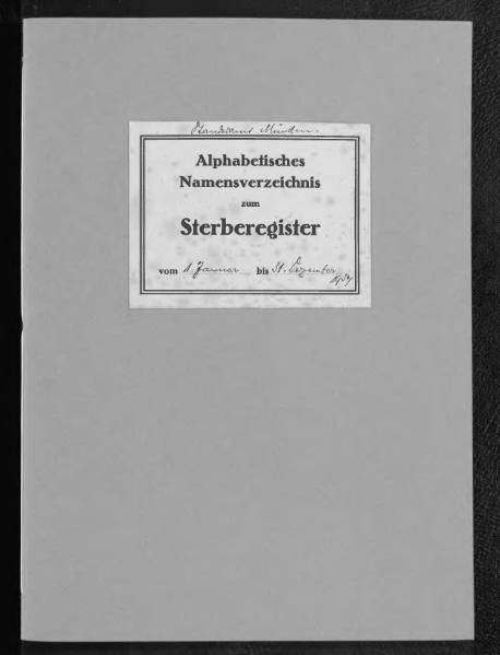 File:Alphabetisches Namensverzeichnis zum Sterberegister des Standesamtes Minden, 1934.djvu