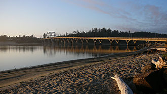 Alsea Bay Bridge - The 1991 Alsea Bay Bridge