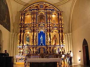 Chinandega: Image:Altar mayor de Parroquia Santa Ana