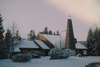 Altenau, Lower Saxony - Image: Altenau Church