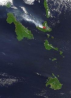 Ambrym Island in Malampa Province, Vanuatu