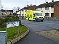 Ambulance, Hospital Road, Omagh (geograph 4849004).jpg