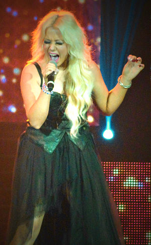 Amelia Lily - Lily performing in 2012
