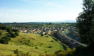 American Canyon, California - View of the La Vigne neighborhood in American Canyon, California.
