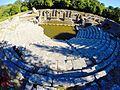 Amfiteatri ne Qytetin Antik te Butrintit.JPG