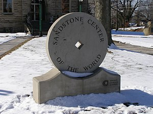 "Amherst, Ohio - ""Sandstone Center of the World"""